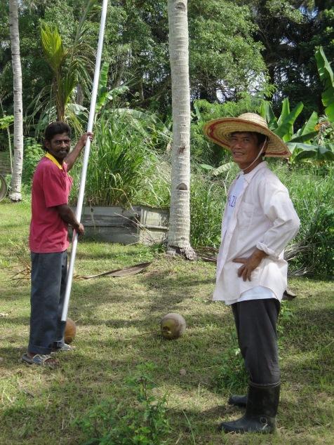 Sataiyanathan (Home Assistant) & Samuel (Organic Farm Supervisor)